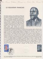 1ER JOUR FEUILLET DOCUMENT PHILATELIQUE 12/1977 LE SOUVENIR FRANCAIS - Documents De La Poste