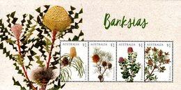 Australia - 2018 - Flora - Banksias - Mint Souvenir Sheet - 2010-... Elizabeth II