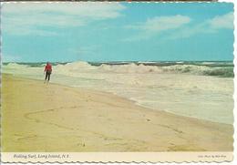 Etats-Unis > NY - New York > Long Island ROLLING SURF BEAUX TIMBRES NOBLITERES - Long Island