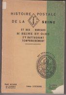 CATALOGUE  : HISTOIRE POSTALE DE LA SEINE . J LEGENDRE . - France