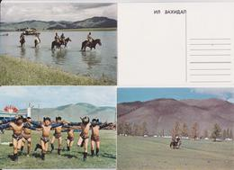 MONGOLIE - MONGOLIA - Lot De 15 Cartes Postales - Mongolie