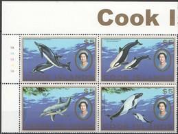 Cook Islands 2007 Yvertn° 1283-1286 *** MNH Cote 50 Euro Faune Baleines Walvissen - Cook