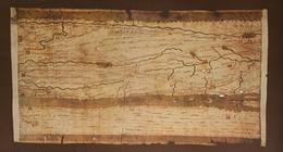 FAKSIMILE RÖMERSTRASSEN TABULA PEUTINGERIANA BLATT 3 RHEINL. CODEX VINDOBONENSIS - Landkarten