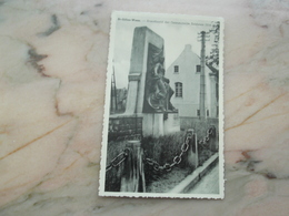 SINT-GILLIS-WAAS: Standbeeld Der Gesneuvelde Soldaten - Sint-Gillis-Waas