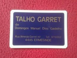 ANTIGUO CALENDARIO DE BOLSILLO DE MANO PORTUGAL PORTUGUESE CALENDAR 1987 TALHO GARRET ERMESINDE VER FOTO/S Y DESCRIPCIÓN - Calendarios