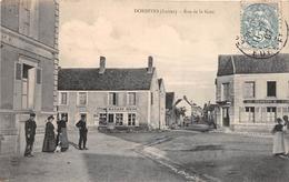 """¤¤  -  DORDIVES   -   Rue De La Gare  -  Epicerie , Mercerie """" GAZARD """"  -  Marchand De Vin """" CLEMENT """"     -  ¤¤ - Dordives"""