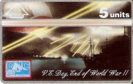 Nº 36 TARJETA DE GIBRALTAR DE DAY END OF WORLD WAR II NUEVA-MINT - Gibraltar