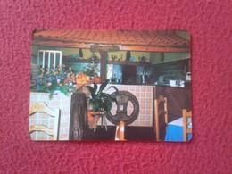 ANTIGUO CALENDARIO DE BOLSILLO DE MANO PORTUGAL PORTUGUESE CALENDAR 1988 TROFA RESTAURANTE RULINHA ? XULINHA ? VER FOTOS - Calendarios