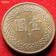 Taiwan 1 Yuan 1996 / 85 Y# 551 Lt 208  China Formosa - Taiwan