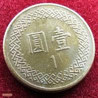 Taiwan 1 Yuan 1988 / 77 Y# 551 Lt 415  China Formosa Chine - Taiwan