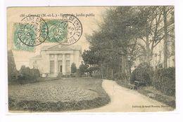 CPA (49) Cholet. Entrée Du Jardin Public.   (117) - Cholet