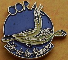 CC 244 ...ÎLE DE LA RÉUNION......département Français De L'océan Indien.. - Pin's