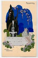 CPA MESCHINI Art Déco édition Ars Nova Italie écrite - Andere Zeichner
