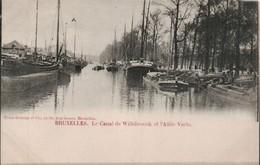 Bruxelles Le Canal De Willebroeck Et L Allee Verte - Transport (sea) - Harbour