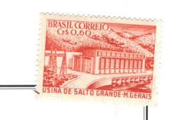 Brasile PO 1956 Diga Salto Grande  Scott.832+See Scan On Scott.Page - Brasile