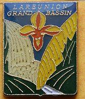 CC 264...ÎLE DE LA RÉUNION......département Français De L'océan Indien...GRAND  BASSIN... - Pin's