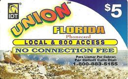 IDT: UTA Union Florida 04.2005, Logo Rs Left - Vereinigte Staaten