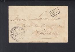 Envelope Guadeloupe 1901 - Guadeloupe (1884-1947)