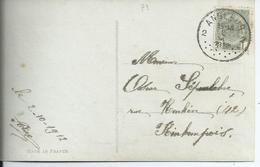Fantasiekaart Met OCB 81 - Afstempeling ANGLEUR 2 - COBA 15 - 1893-1907 Wapenschild