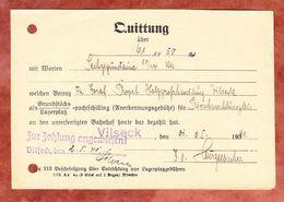 Quittung Ueber Lagerplatzgebuehren, Vilseck 1941 (51082) - Historische Dokumente