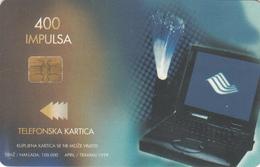 BOSNIA - PTT BIH, Computer / Isdn, 400 U, 04/99, Tirage 100,000, Used - Bosnia
