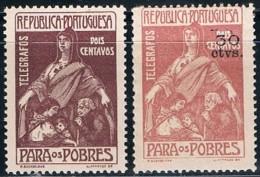 Portugal, 1915/25, # 8, 11, Imposto Postal, MH - Ongebruikt