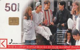 BOSNIA - PTT BIH, Misli Mine Chip S35 , 50 U, Tirage 300,000, Used - Bosnia