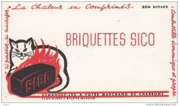BRIQUETTES SICO Combustible Economique Charbon CHAT - Gas, Garage, Oil