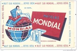 MATELAS MONDIAL - Buvards, Protège-cahiers Illustrés