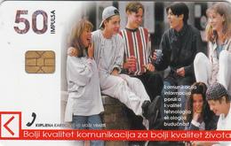 BOSNIA - PTT BIH, Misli Mine Chip CHT08 , 50 U, Tirage 300,000, Used - Bosnia