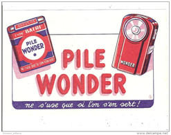 PILE WONDER / - Baterías