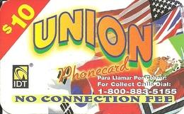 IDT: UTA Union 09.2003 - Vereinigte Staaten