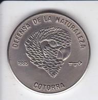 MONEDA DE CUBA DE 1 PESO DEL AÑO 1985 DE UNA COTORRA (COIN) SIN CIRCULAR-UNCIRCULATED - Cuba