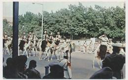 KHARTOUM SUDAN, Camel Riders Mounted Police, Old Postcard - Sudan