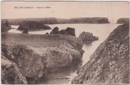 Morbihan : Belle  Ile  En MER : Baie  Du  Talud ( Tampon  Grotte De L ' Apothicairerie  Au  Dos) - Belle Ile En Mer