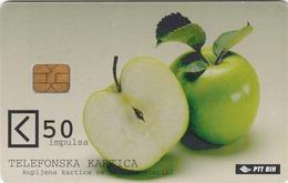 BOSNIA - PTT BIH, Apples, 50 U, Tirage 300,000, Used - Bosnia