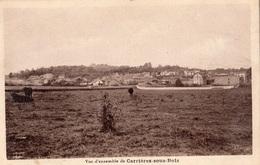 LE MESNIL-LE-ROI VUE D'ENSEMBLE DE CARRIERES-SOUS-BOIS - Frankreich
