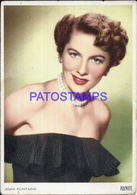 93414 ARTIST JOAN FONTAINE JAPAN 1917 - 2013 ACTRESS CINEMA MOVIE BY PARAMOUNT POSTAL POSTCARD - Entertainers