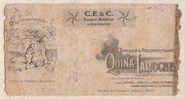 8/24  BUVARD QUINA LAROCHE Abimé - Chemist's