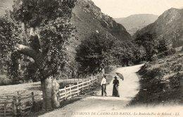 Environs De Cambo Les Bains...la Route Du Pas De Roland. - France