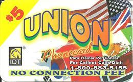 IDT: UTA Union 3 Month - Vereinigte Staaten