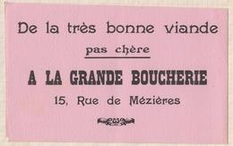 8/25  BUVARD A LA GRANDE BOUCHERIE RUE DE MEZIERES - Food