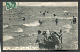 CPA - BERCK PLAGE - L'Heure Du Bain - Départ D'un Canot, Animé - Berck