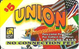 IDT: UTA Union 01.2005 - Vereinigte Staaten