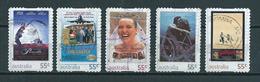 2008 Australia Complete Set Film Posters,self-adhesive  Used/gebruikt/oblitere - 2000-09 Elizabeth II