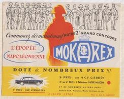 8/26  BUVARD MOKAREX CONCOURS 1ER PRIX VERSAILLES - Food