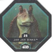 JETON LECLERC STAR WARS   N° 25 JAR JAR BINKS - Power Of The Force