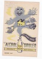 ALCOOL A BRULER / PRODUIT NATIONAL / MARSEILLE DROGUERIE MANZI / BD NATIONAL - Wash & Clean