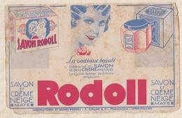 8/29  BUVARD RODOLL SAVON CREME - Parfums & Beauté