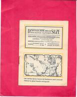 LIVRET Publicitaire De La SUZE MAISONS ALFORT - Les Vertus De La Racine De Gentiane - RARE - BARA - - Trade Cards